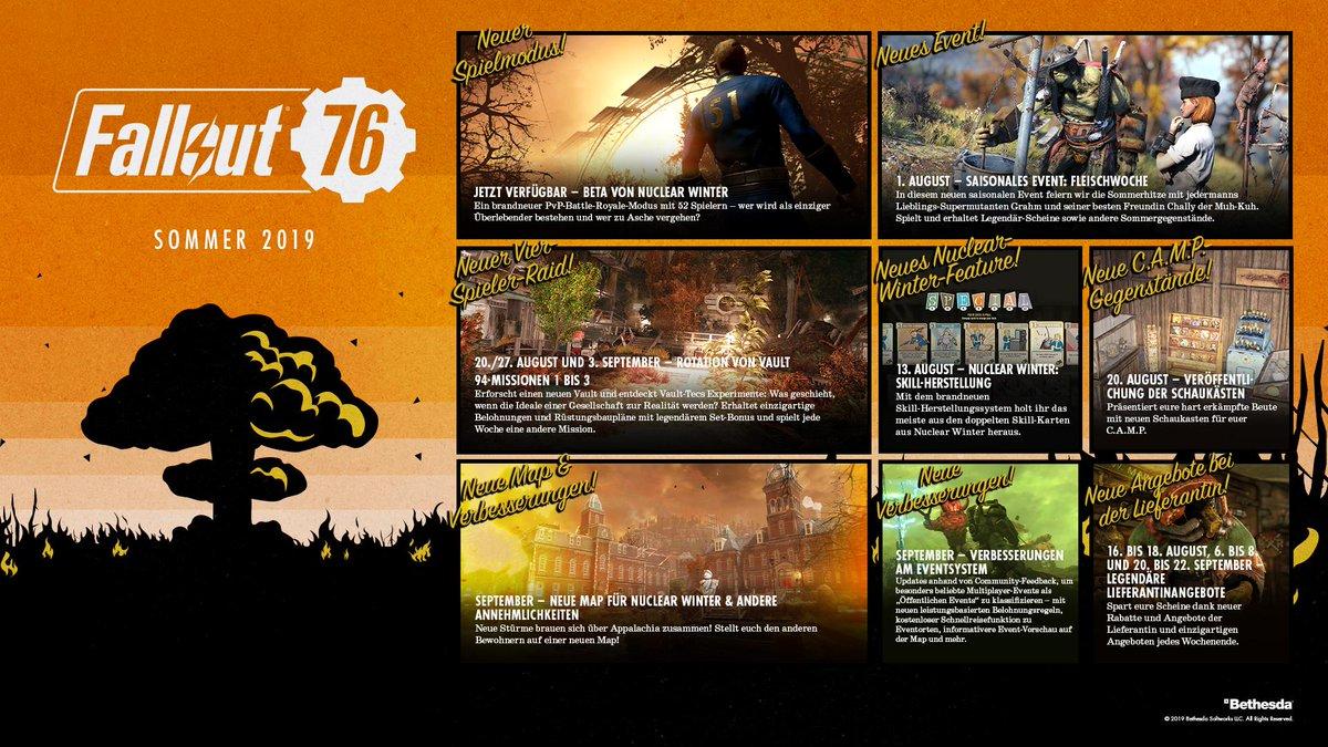Fallout 76 Karte Deutsch.Fallout Deutschland On Twitter Vault Raids Fleischwochen