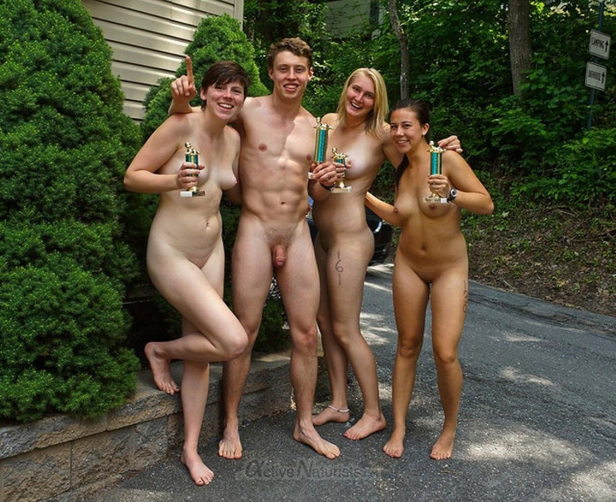 Family friendly nudist events