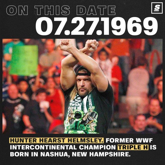 Happy 50th bday, Triple H.