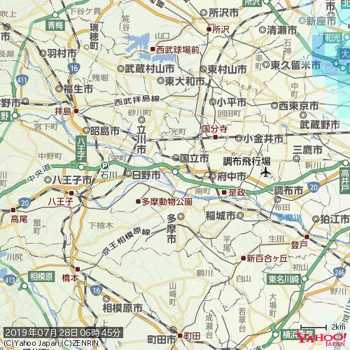 雨雲 レーダー 横浜