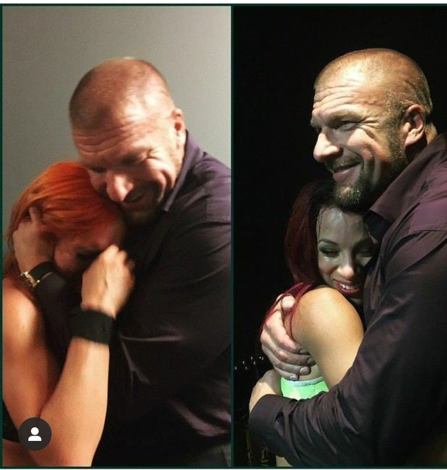 Happy birthday Triple H! The man that finds and congratulates talent like no other.