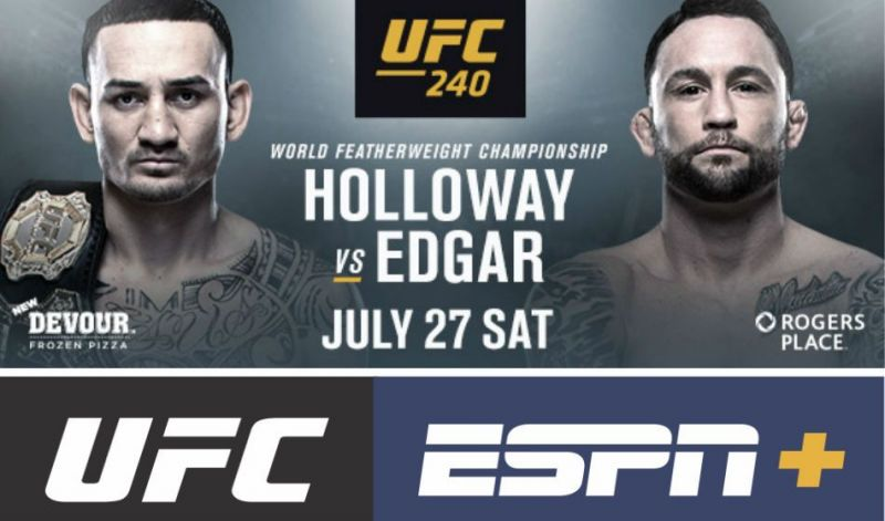 Watch UFC 240: Holloway vs Edgar LiVe On @rEdDiT (@watch_ufc_free
