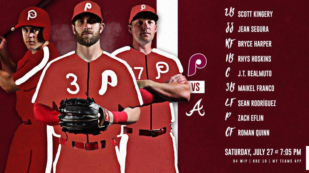 the latest 4db00 9b392 Philadelphia Phillies on Twitter: