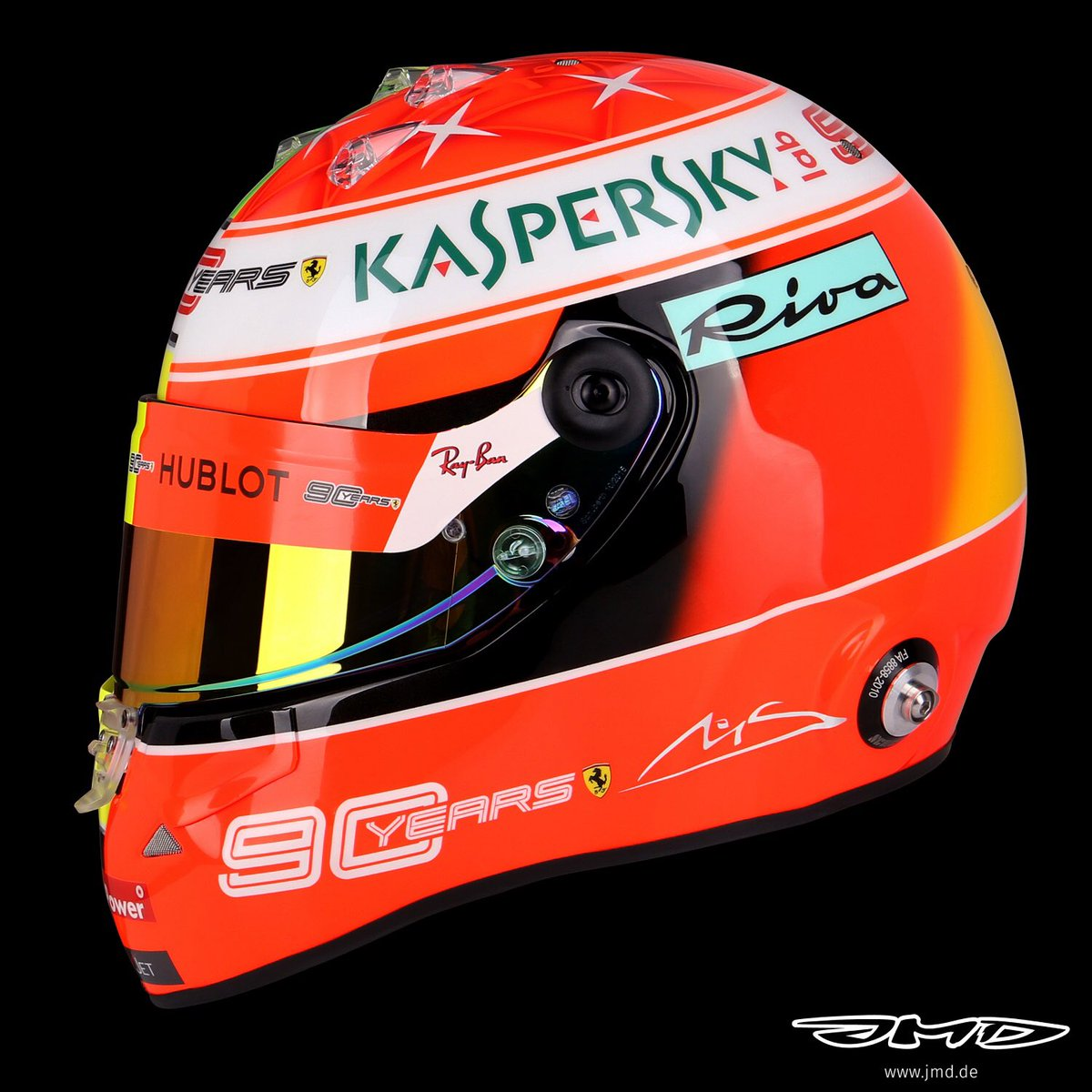 Jens Munser Designs On Twitter Mick Schumacher Driving His Father S Ferrari F2004 In Hockenheim Obviously Deserves A Special Helmet Michael S 2004 Design On One Side Mick S 2019 Design On The Other Https T Co Xxmxej1kpn