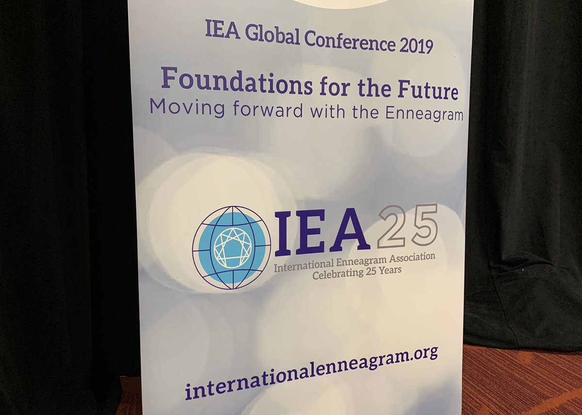 At #IEA25 studying, engaging and celebrating the #9Types. I'm blown away by the depth here and amazed at the facets and layers of the #Enneagram that are continuing to unfold amidst the curiosity and passion of students and teachers alike. https://t.co/gD75wdFs3D