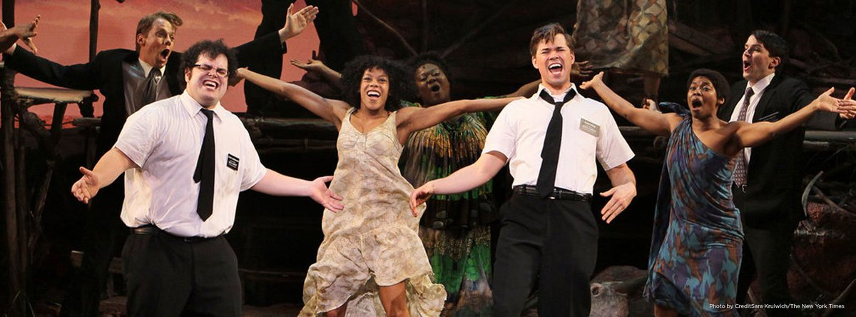 At today's matinee, @BookofMormon became the 14th longest-running show in Broadway history! https://t.co/0hyOzxZ3aM