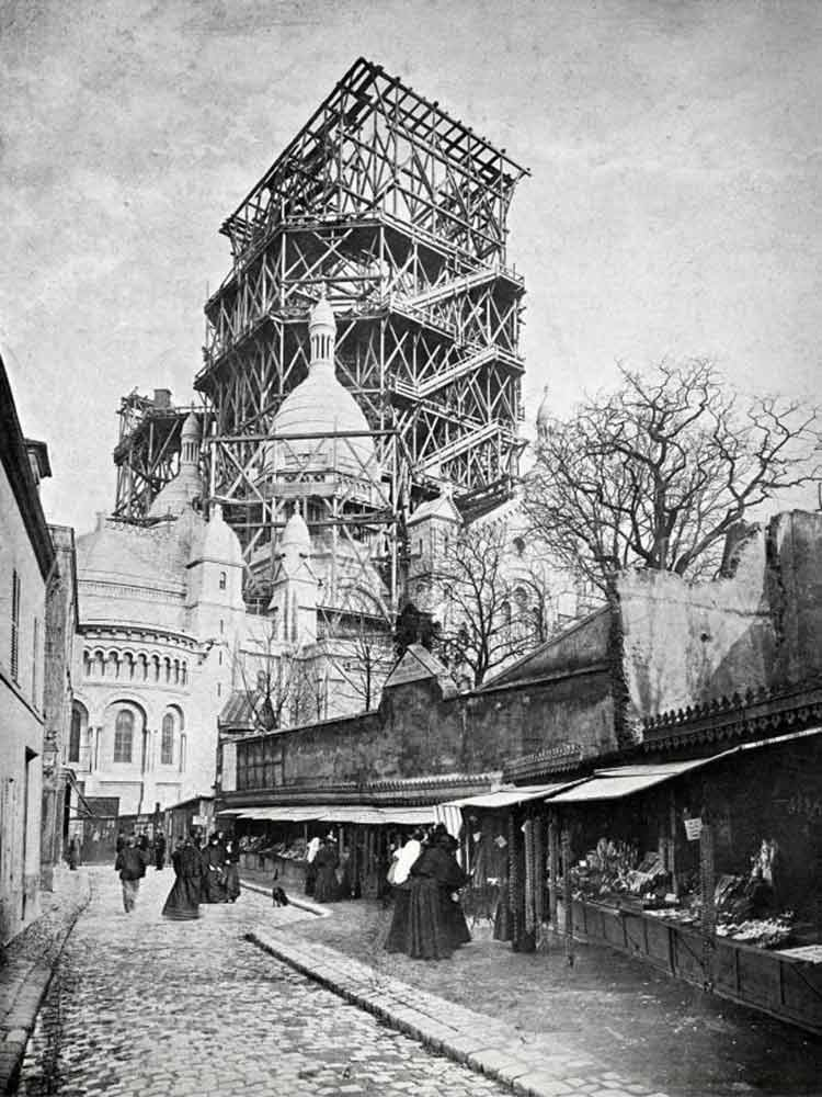 Paname Paris 190k On Twitter Construction Du Sacre Coeur