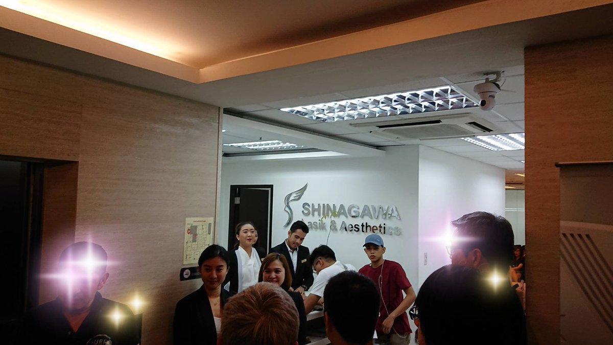 【フィリピン視察旅行備忘録】マニラで美容事業等も行っているips。最新レーシック手術は予約困難なほどの人気。清潔で洗練された待合室はフィリピン人で満席。サロンは周辺で一番家賃の高い憧れのビル。フィリピン平均年齢24歳、日本45歳。 レーシックは40歳超えてすると老眼早発で→