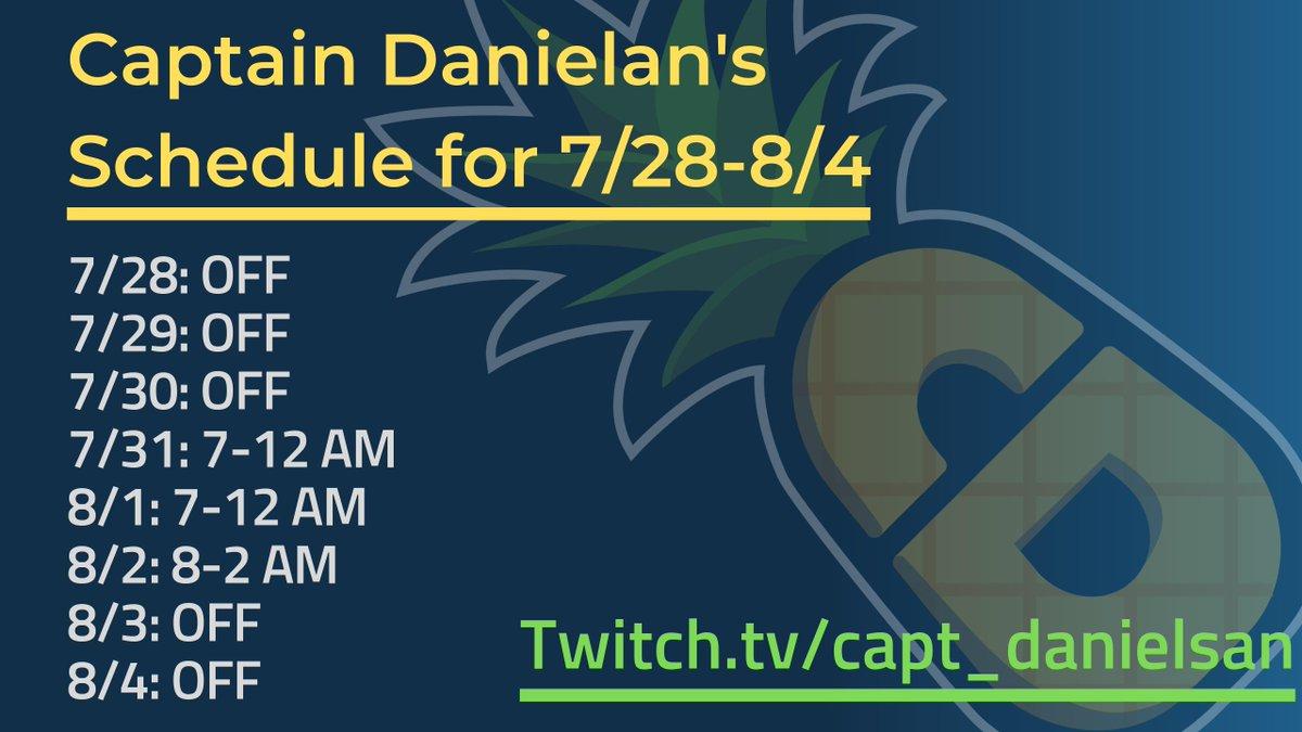CaptDanielsan - Captain Danielsan 🍍 Twitter Profile | Twitock