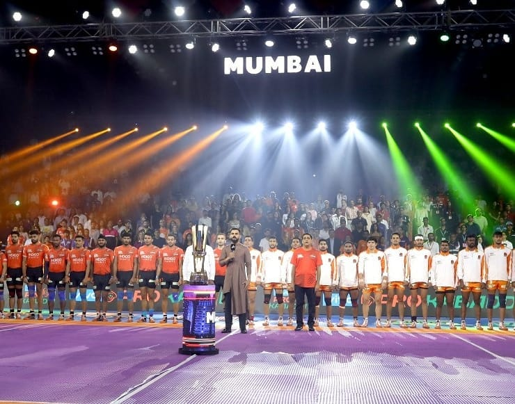 Honoured to be a part of such a special evening at @ProKabaddi yesterday. Jai Hind 🇮🇳