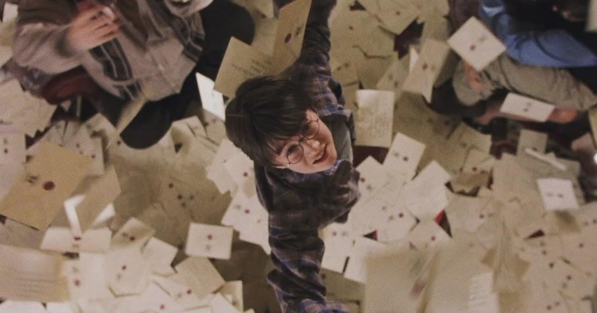 Гарри поттер и письма гиф