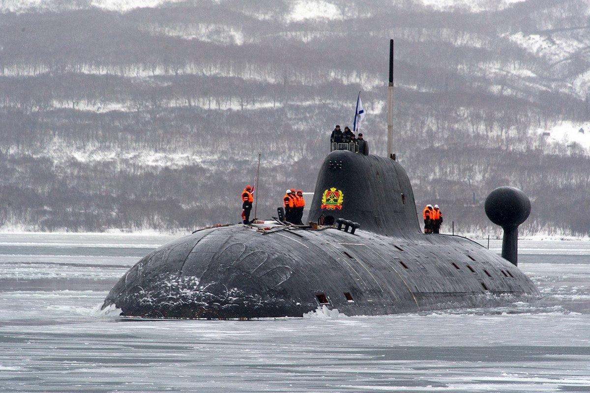отличается российский подводный флот в фотографиях сегодня