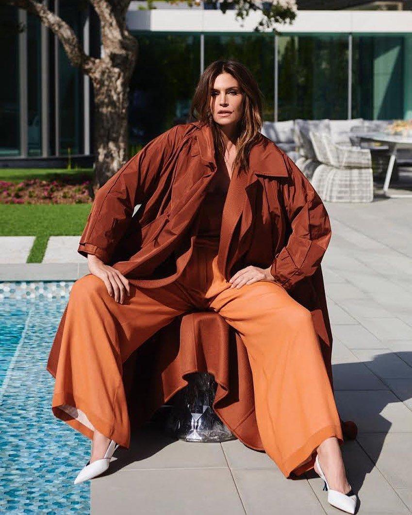Синди Кроуфорд для турецкого Harper's Bazaar