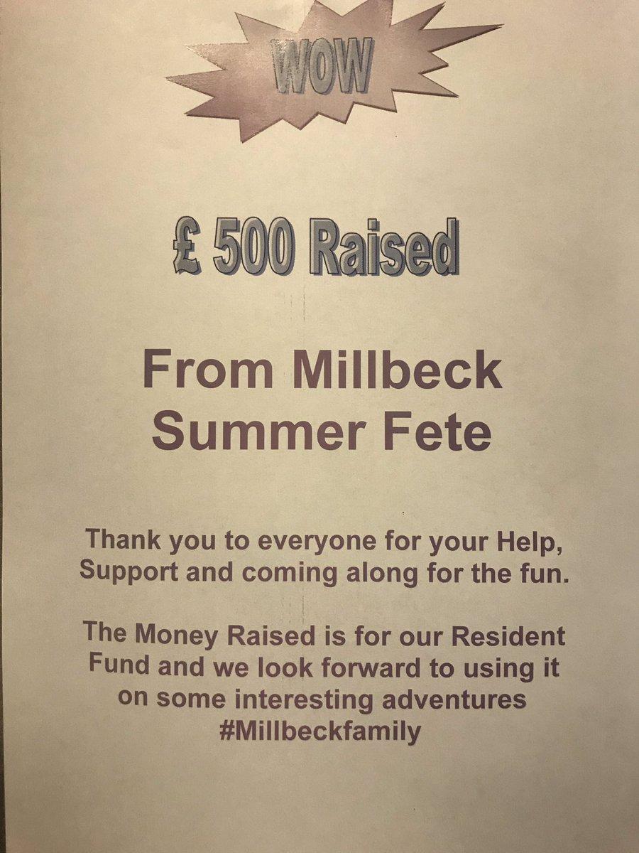 Millbeck Twitter post