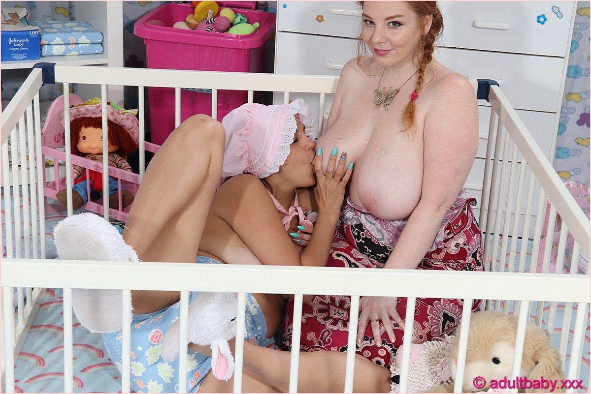 Breastfeeding nurses fetish