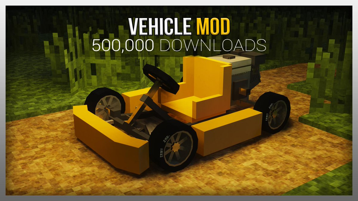 🚍Thank you! The Vehicle Mod has now be downloaded more than