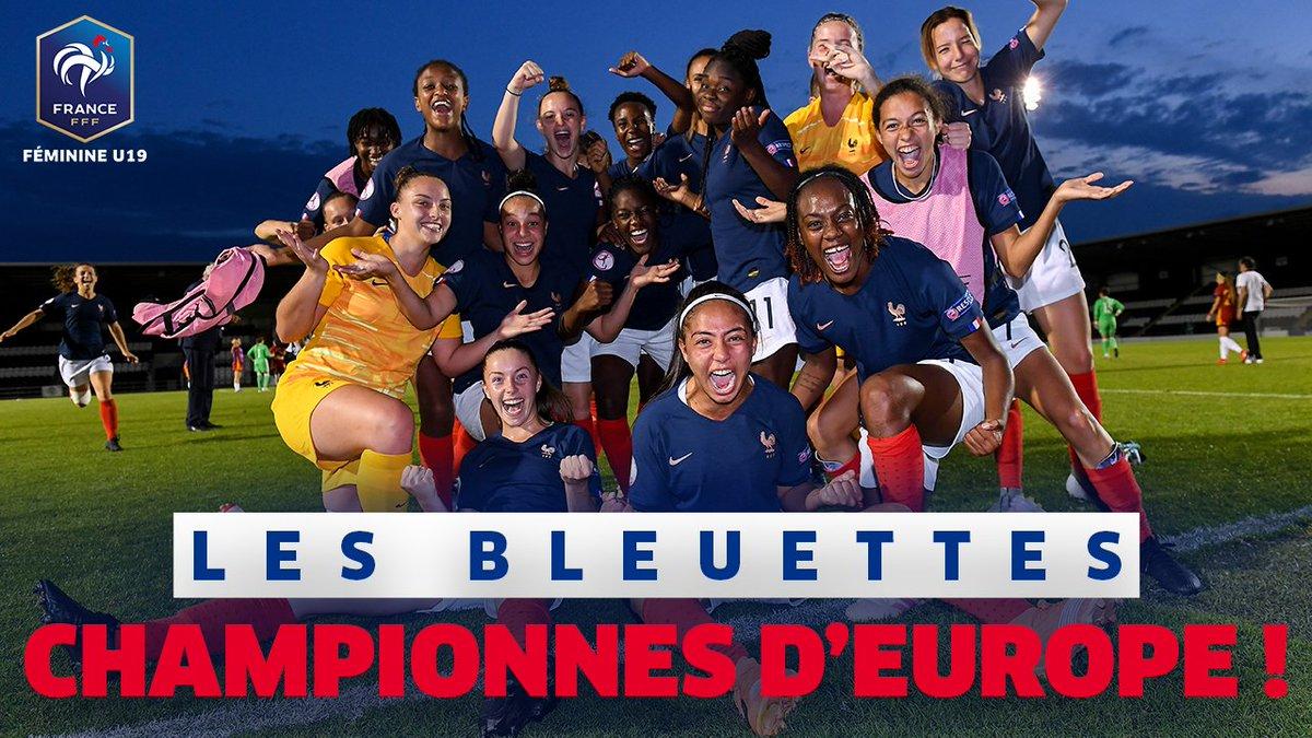 FFF U19 équipe de France Euro 2019