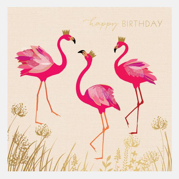 Открытка старым, открытки с фламинго с днем рождения