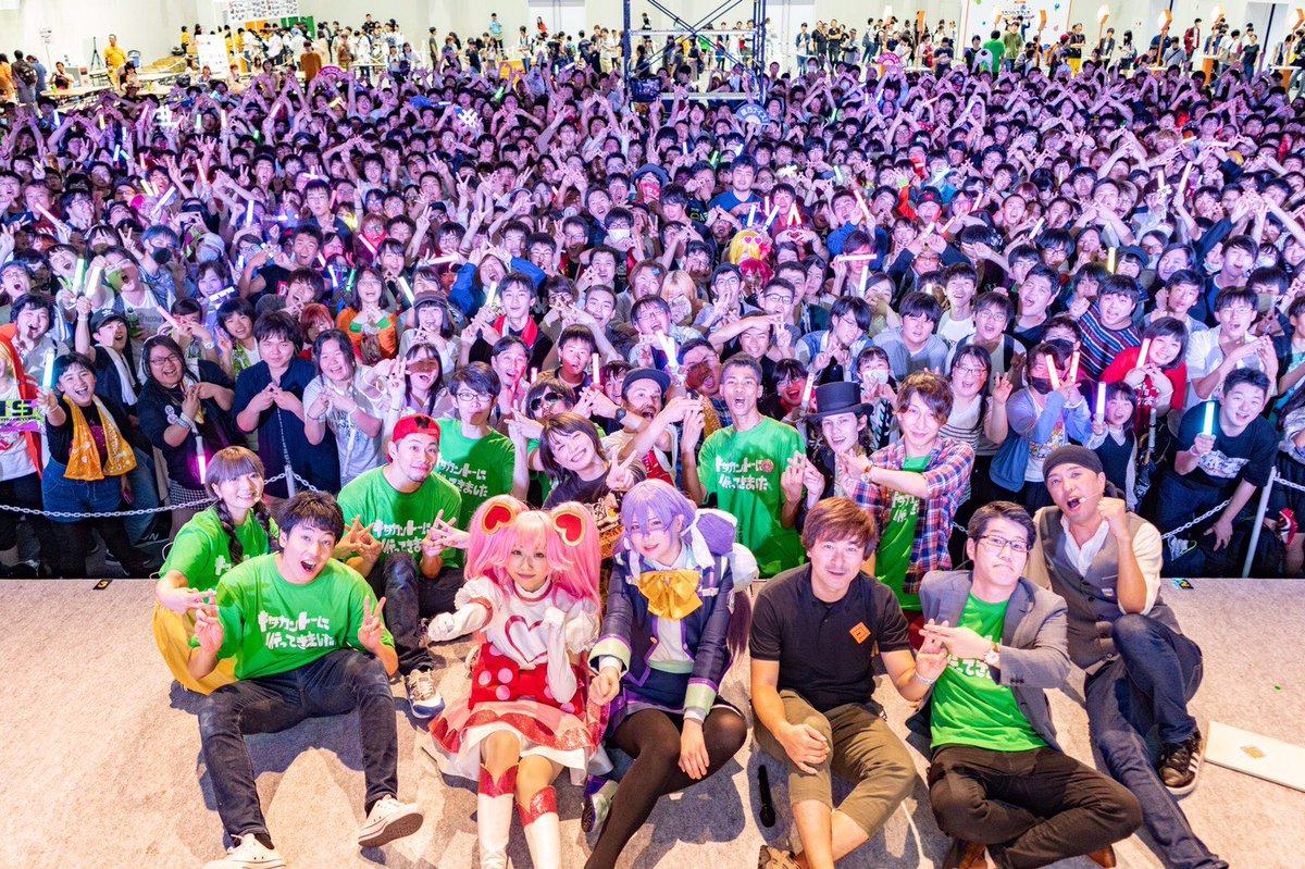 7/28(日)に開催されました「コンパス街キャラバンin高崎 踊ってみたステージ」にて  弊社所属アーティスト DRAGON  が出演致しました。 https://t.co/YICOzq1Vsh