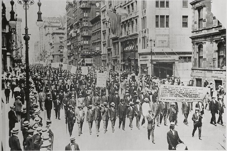 The Silent Protest, July 28th, 1917. Beautifully evoked in Toni Morrison's