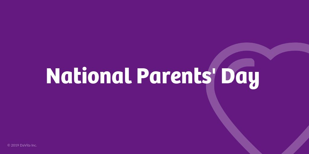 Happy #NationalParentsDay! Today and every day, we celebrate