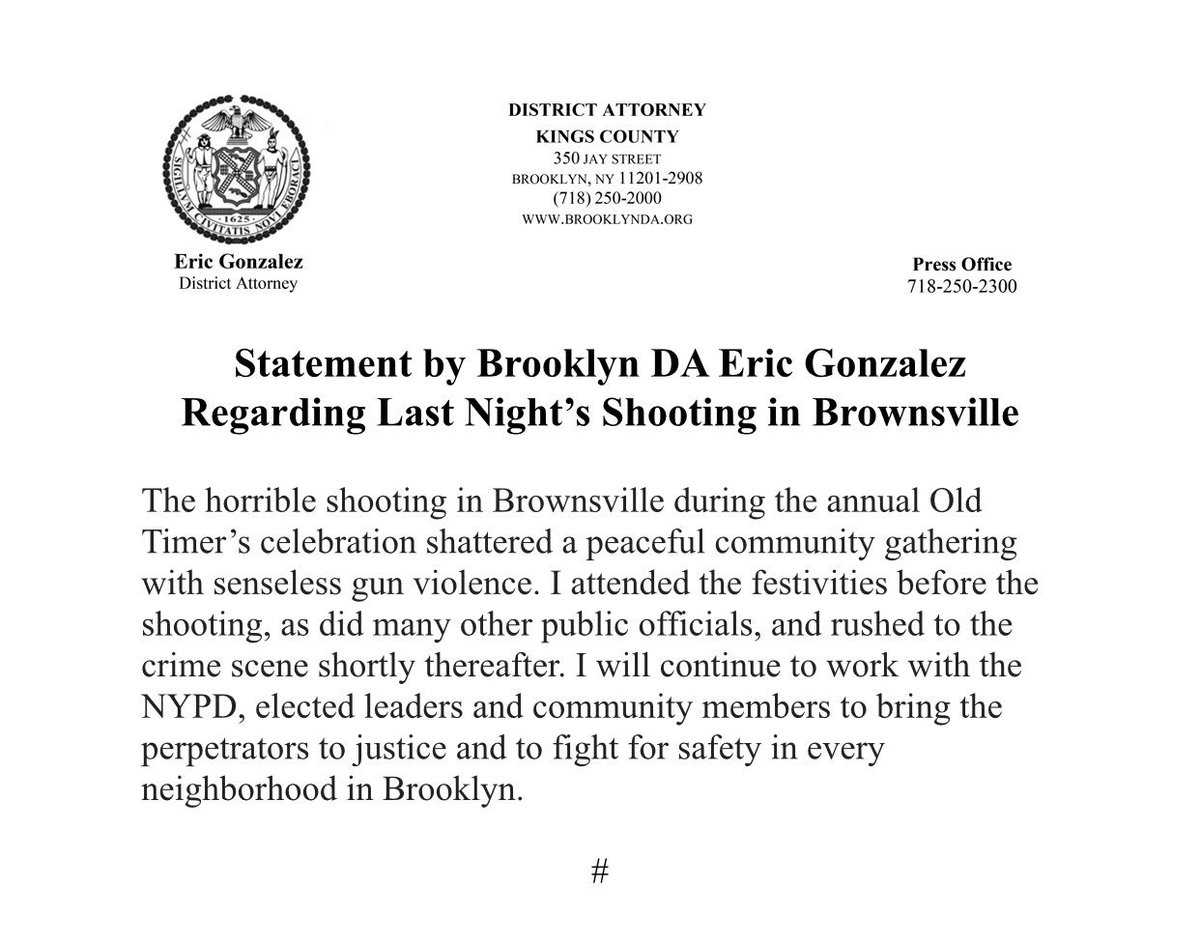 shooting in brooklyn last night