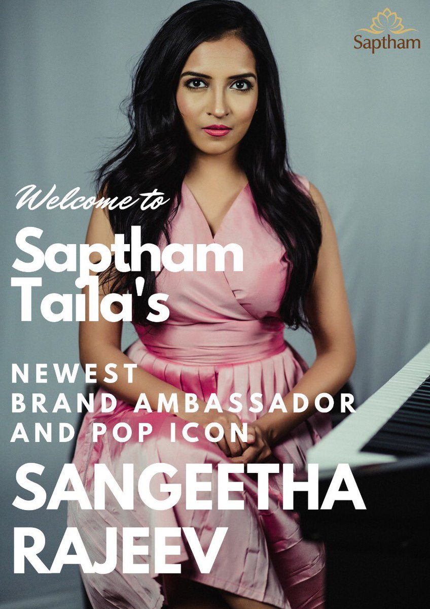I'm so excited & happy to be endorsing the finest Essential & Natural Oil Brand in town - Saptham 🤩