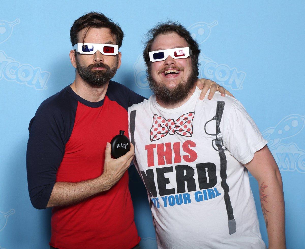 David Tennant at GalaxyCon Raleigh fan convention - Sunday 28th July 2019