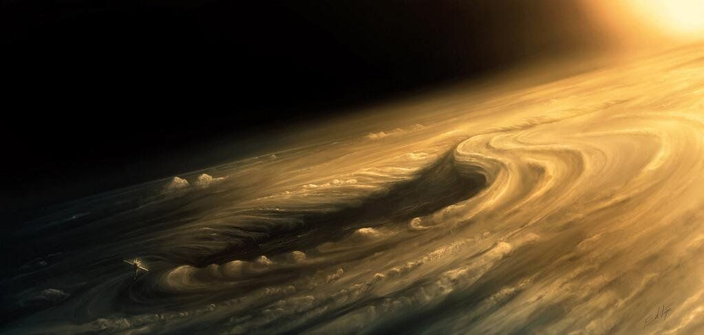 feat abstract jupiter atmosphere - HD 1500×1000