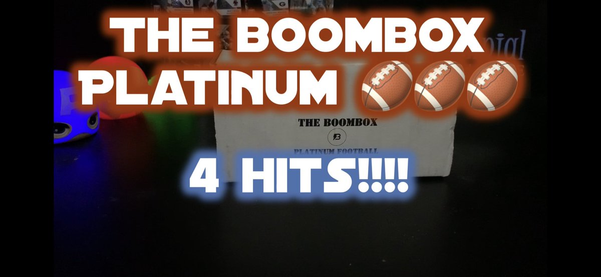 More newness... Opening a PLATINUM Boombox: 4 HITS https://youtu.be/z7GR-CqNSdg via @YouTube @OriginalBoombox #theoriginalboombox #boombox #nfl #football #footballcards #florida #tampapic.twitter.com/rE93PymDYY