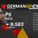 [INFO] 🇪🇸 Carlos Sainz brilla bajo el agua para lograr la quinta posición en el GP de Alemania 👉 https://t.co/v0RQ4Qhmak  🇬🇧 Carlos Sainz shines under the rain to secure fifth place at the German GP 👉 https://t.co/oVZXItd07E  #carlo55ainz #GermanGP 🇩🇪 #F1