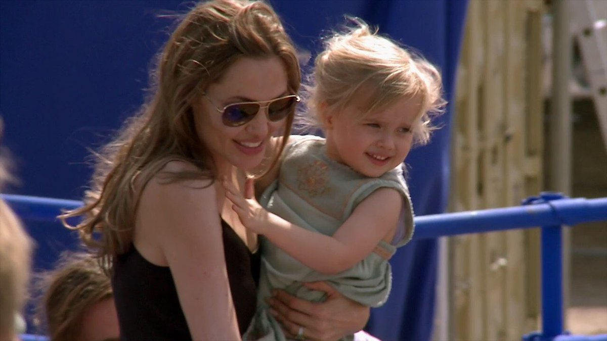 Best Of Angelina Jolie On Twitter Angie And Her Daughter