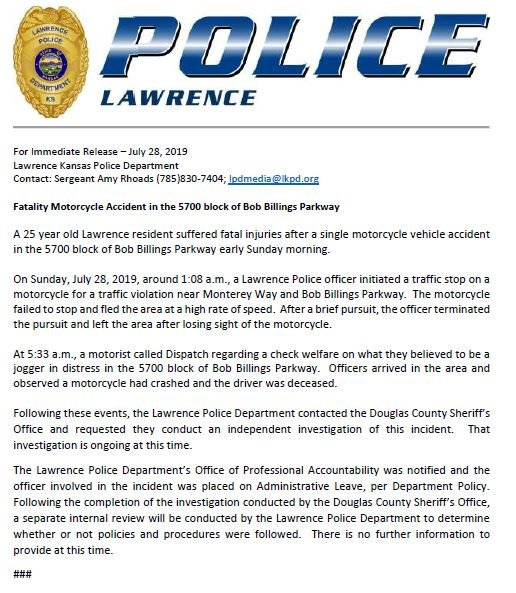 Lawrence Police (@LawrenceKS_PD)   Twitter