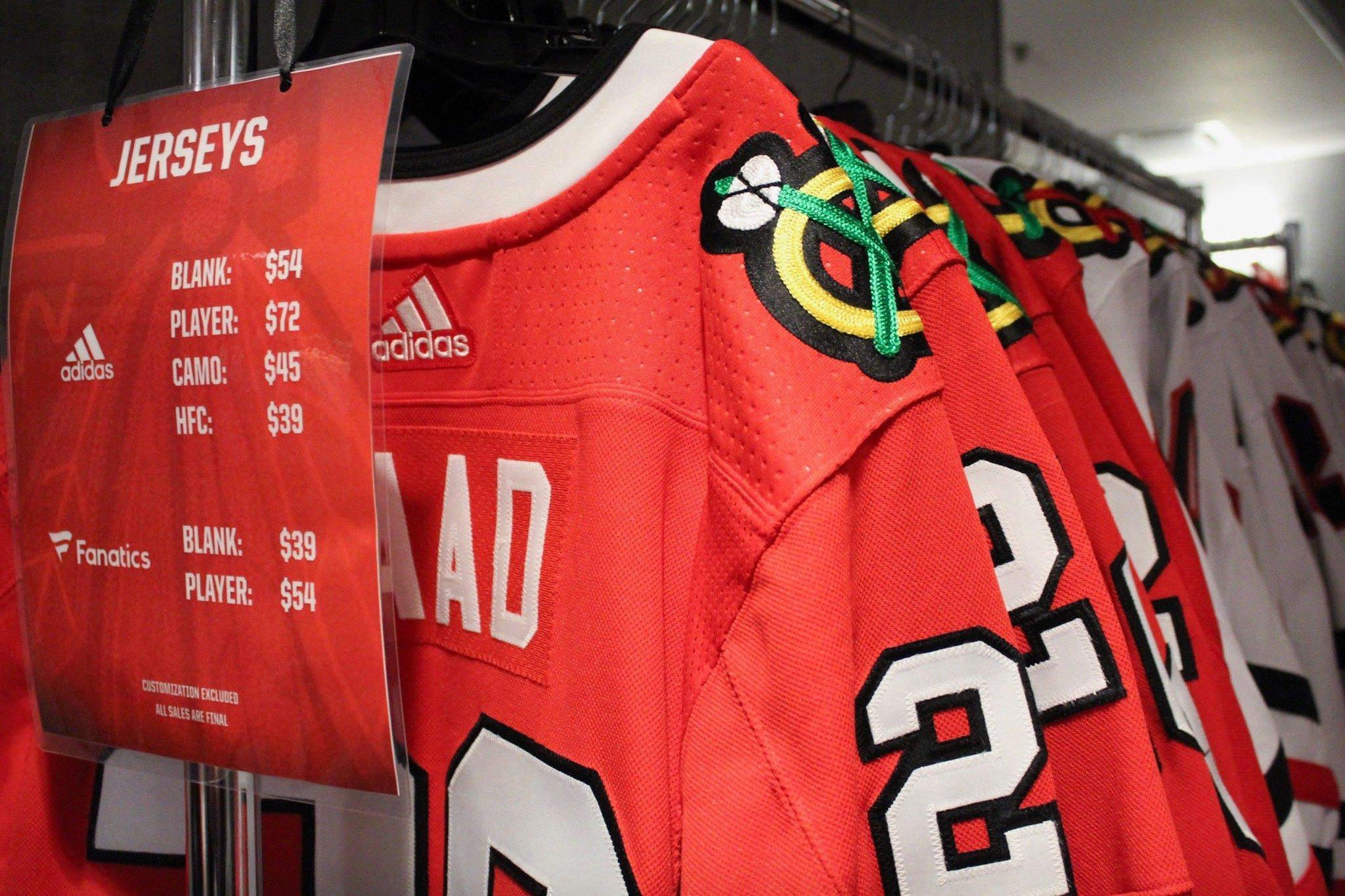 blackhawks jersey store