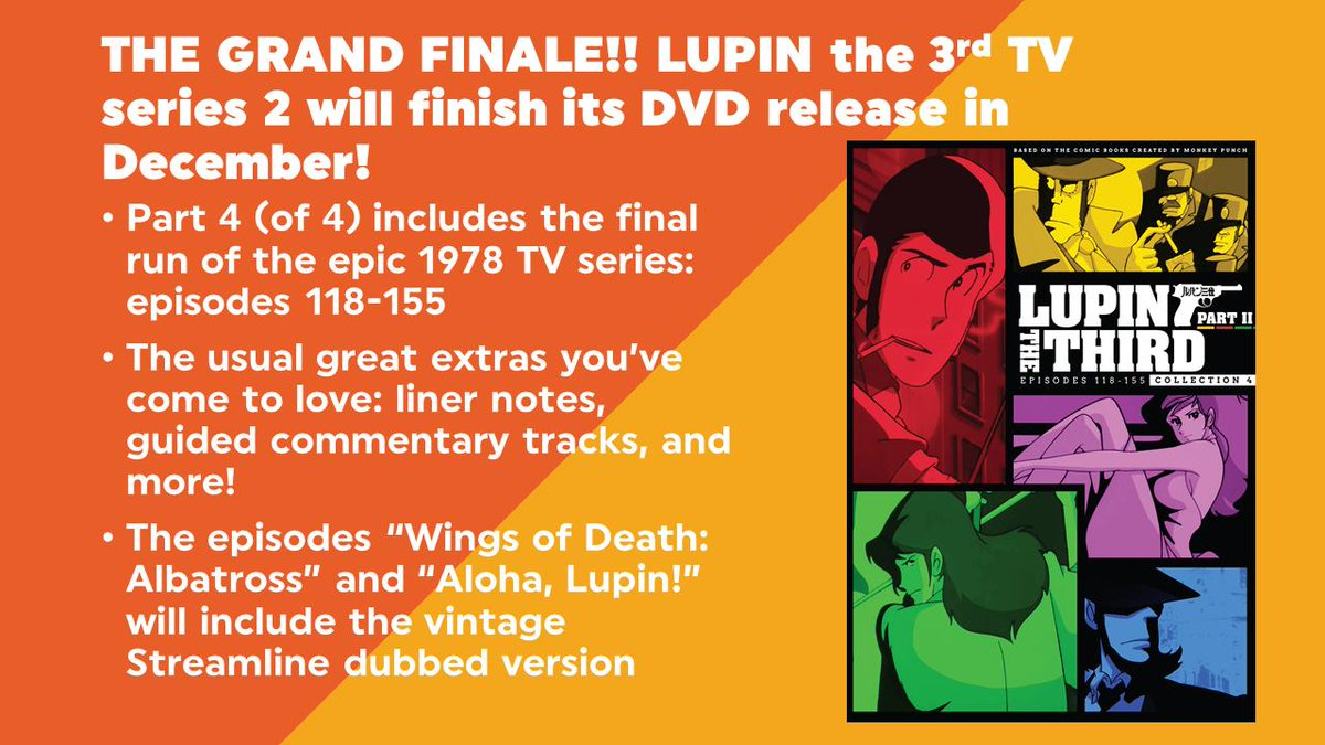 Sideburns & Cigarettes: A Lupin III Podcast (@lupinpod)   Twitter