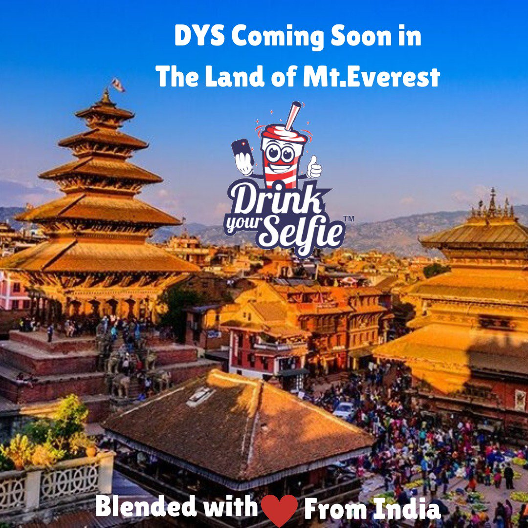 The Technology and Brand @DrinkYourSelfie that entertained India is now all-set to entertain Nepal with it's Unique Concept !! #drinkyourselfie #nepal #thamel #mandalastreet #selfieshakes #selfiecoffee #openingsoon #ComingSoon #kathmandu #nepaltimes #nepalifood