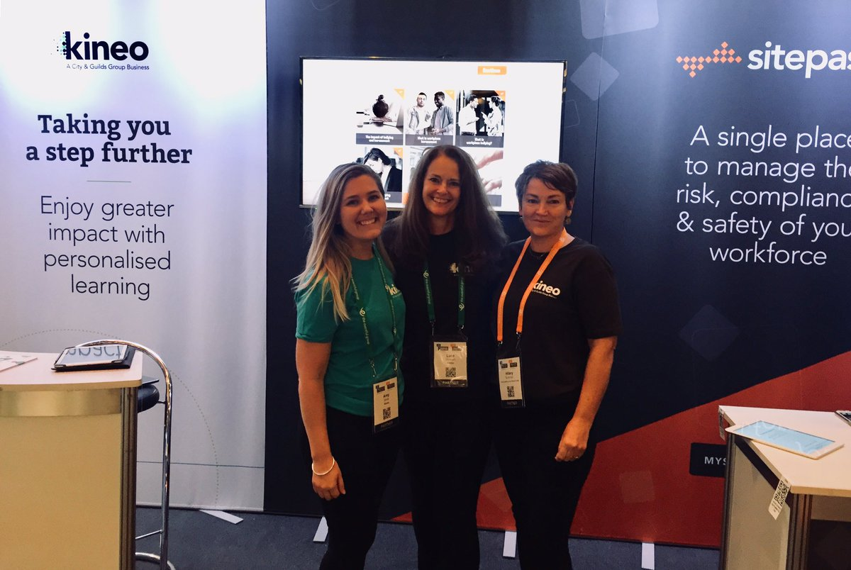 Our friendly team are at the #ldtechfest & #hrtechfest in #Auckland - would love to see you and understand your learning challenges! #kineo #digitalcredentialing #sitepass @mysitepass