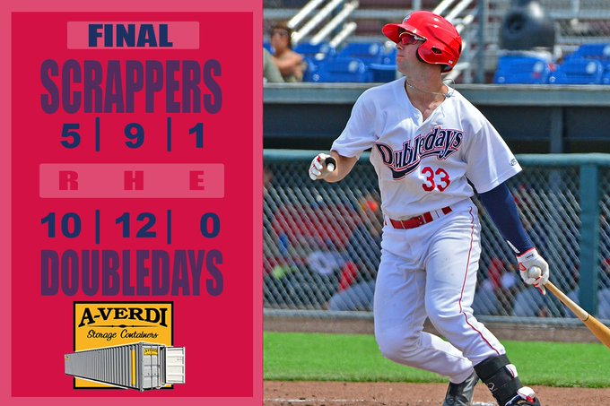 Doubledays offense breaks out in win over Scrappers