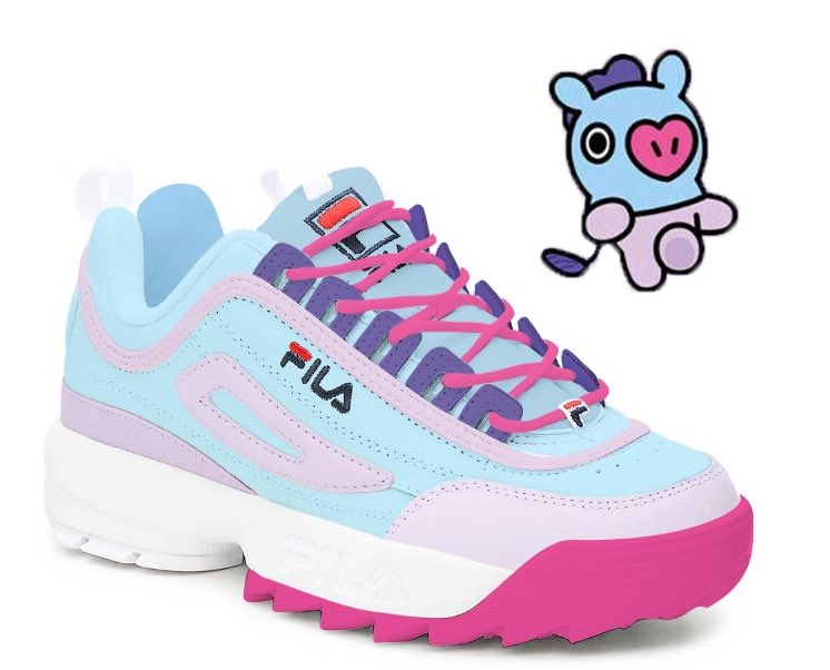 bt21 fila disruptor Sale Fila Shoes
