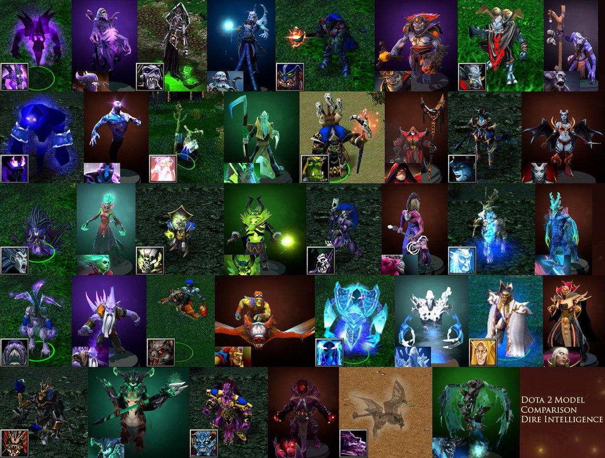 Сборка героев в доте картинки
