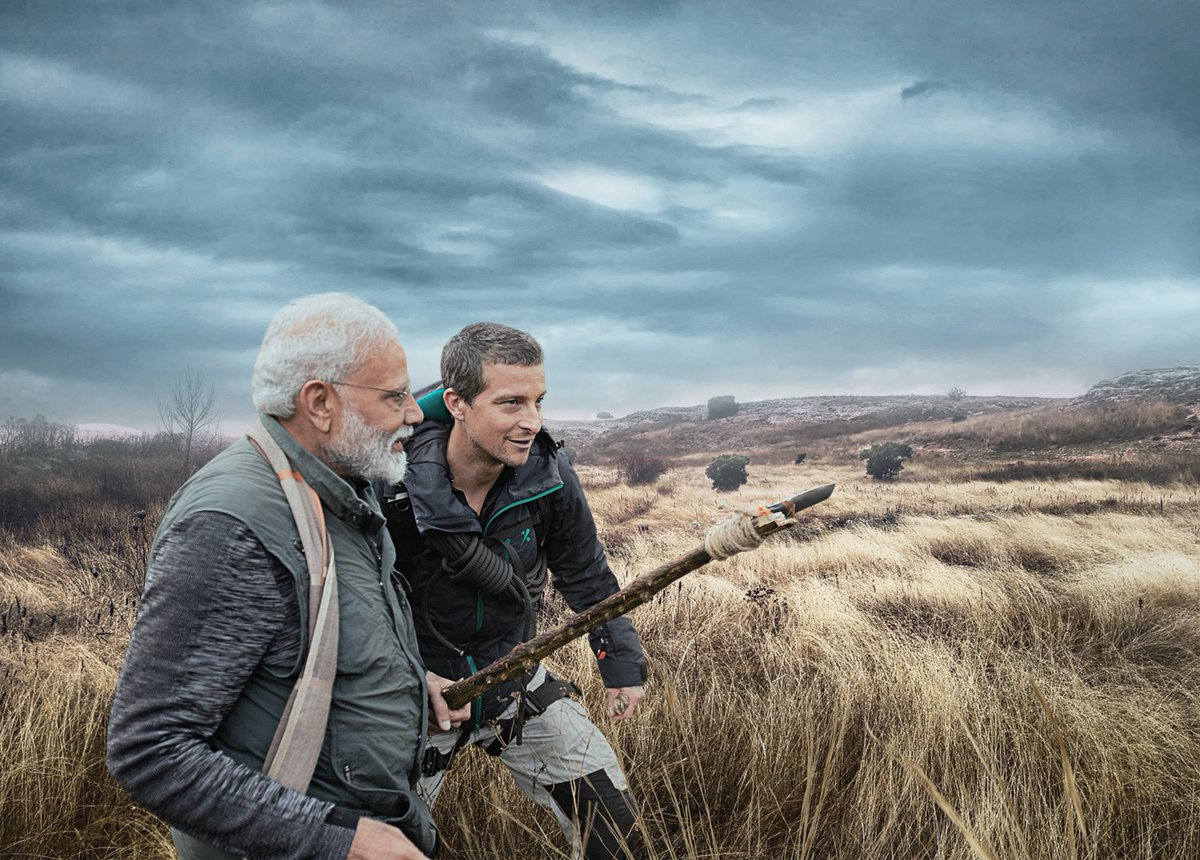 PM Narendra Modi to feature in Discovery's 'Man Vs Wild' episode with Bear Grylls