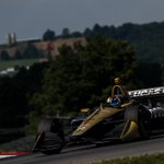 DNF after getting taken out in the first corner of the race... So disappointing after the speed the whole @ArrowGlobal @SPMIndyCar team shown this weekend. We will keep fighting and we will bounce back next race @poconoraceway #ME7 #INDYCAR