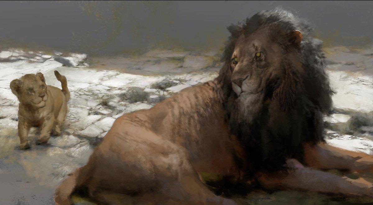 Ruanjia On Twitter Concept Art For Lion King Film