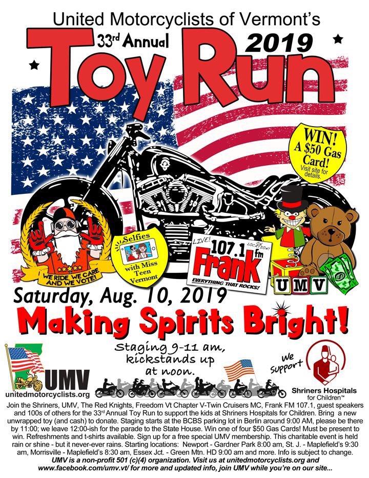 15th annual toy run - 720×932