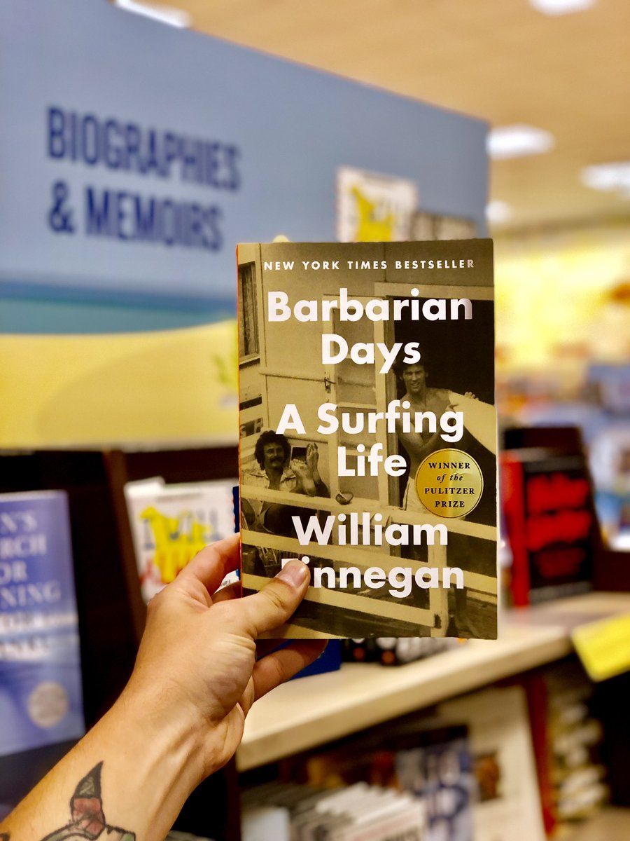 #BookYourSummer with this captivating self-portrait of a lifelong surfer looking for transcendence 🏄 📖