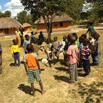 Image for the Tweet beginning: Volunteering in Zambia: 'This is