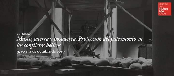 📣Congreso Internacional 'Museo, guerra y posguerra. Protección del patrimonio en los conflictos bélicos' 📅 9-12 octubre 2019 📍Auditorio @museodelprado Toda la info aquí 🔗bit.ly/2yj2GjT