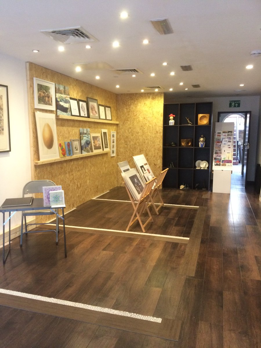 We've popped up courtesy of @EalingShopping and @BritishLandPLC ! Home for the next 2 months is Oak Road in Ealing Broadway. We're open every day from 10am and have loads of art, workshops and events going on. Pop in! #artworks https://t.co/CFzf5Ly45J