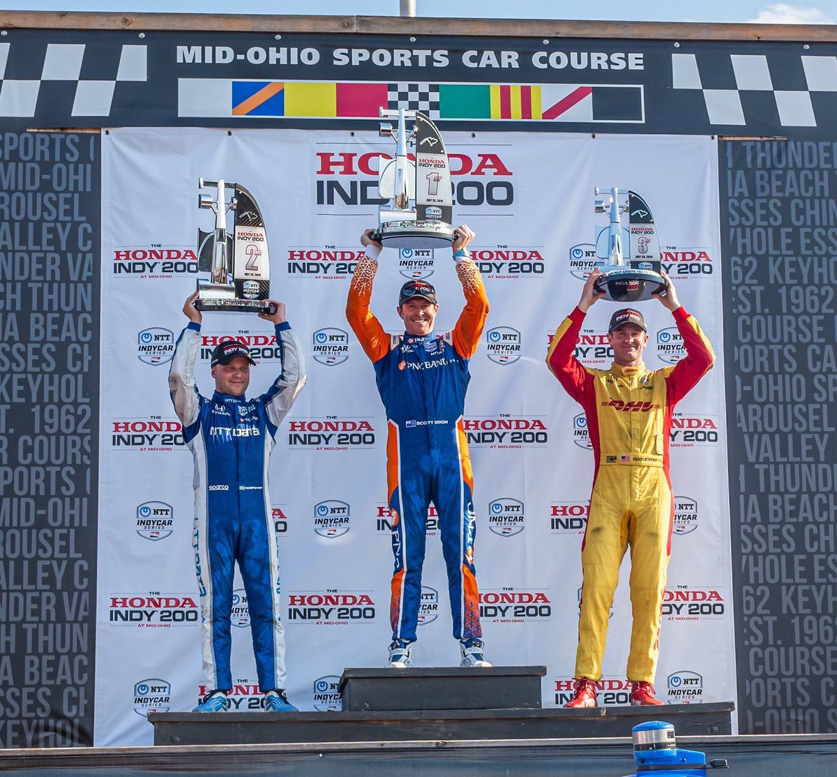 All 3 of our sister @IndyCar tracks have their winners. We're ready for ours. 🏆 The countdown is on to #PortlandGP. @Mid_Ohio / @hondaindy / @GPSTPETE