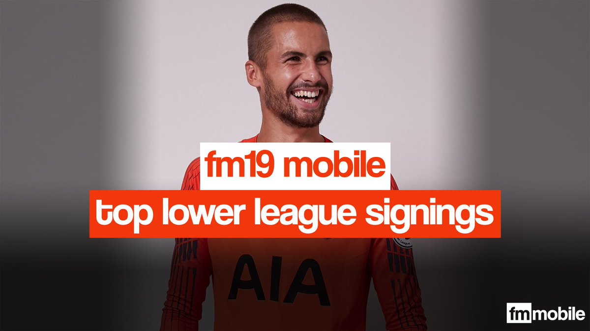 Fm19 Lower League Signings
